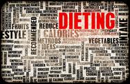 Stock Illustration of dieting