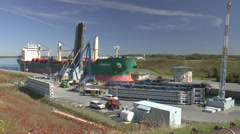 St Lawrence Seaway Stock Footage