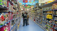 Toy Store 1 Stock Footage