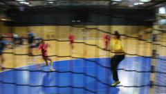 Handball Stock Footage