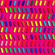 Bright blocks geometric vector background. Stock Illustration