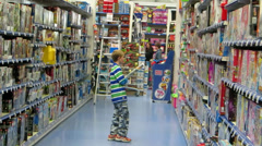 Toy Store 2 Stock Footage