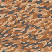 Stock Illustration of Camouflage Textile Pattern Orange Brown