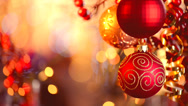 Stock Video Footage of Christmas and New Year Decorations