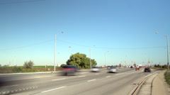 Road Traffic, Time-lapse - stock footage