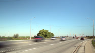 Stock Video Footage of Road Traffic, Time-lapse