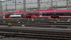 Railyard Stock Footage