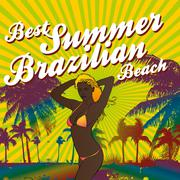 Palm beach samba girls vector art Stock Illustration