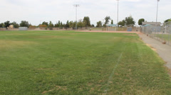 Baseball Field Tilt Up Stock Footage