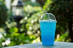 soda mint - stock photo