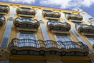 Stock Photo of Famous historic building in Valencia, Spain