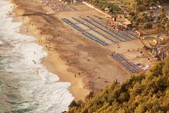 Kleopatra Beach Alanya Turkey Stock Photos