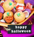 Stock Illustration of fruit jelly candies for the holiday halloween