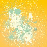 Drop abstract pattern vector art Stock Illustration
