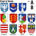 Coat Of Arms Collection Stock Illustration