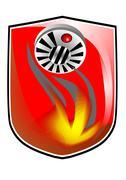 fire prevention icon - stock illustration
