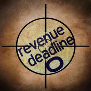 Revenue deadline target Stock Photos