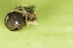 Joulu reki bell tausta Kuvituskuvat