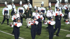 Marching Band, Music Performance, 2D, 3D Stock Footage
