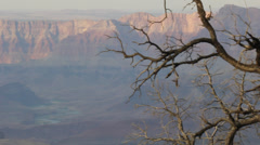 Colorado River and Grand Canyon Pan Left Stock Footage