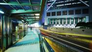Road in Hongkong. Timelapse Stock Footage