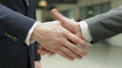Business deal - stock footage