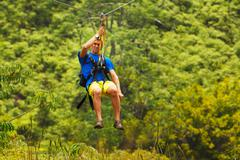 Zipline Stock Photos
