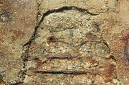 Stock Photo of old concrete with rusty iron