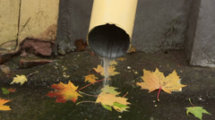Downspout Stock Footage