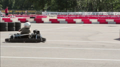 Kart racing Stock Footage