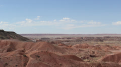 Desert Hills Tilt Down Stock Footage