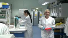 Modern Laboratory Stock Footage