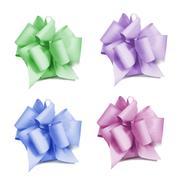 four bows - stock photo