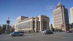 Harbin 02 Beijing Opera Theatre Stock Footage