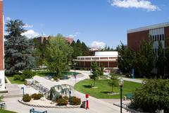 university of nevada campus - stock photo