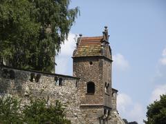 historic building in dresden - stock photo