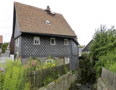 Stock Photo of idyllic house