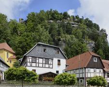 Stock Photo of idyllic houses