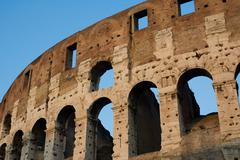 Stock Photo of ruins of coliseum