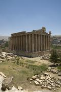 Bachus temple, baalbeck, lebanon Stock Photos