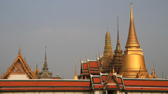 Temple of the Emerald Buddha Stock Footage