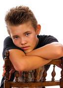 nice teenager - stock photo