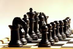Stock Photo of black chess