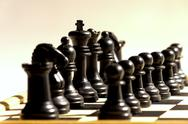 Stock Photo of black chess