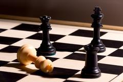 Chessmate - stock photo
