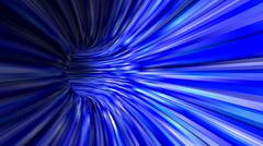 Abstract blue 3d tunnel background Stock Illustration