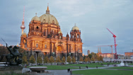 Stock Video Footage of Berlin Cathedral