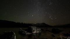 stars timelapse - stock footage