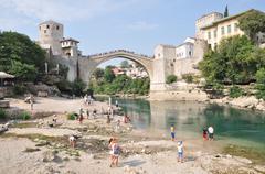 Mostar, bosnia-hercegovina Stock Photos