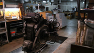 Stock Video Footage of Original Heidelberg Press 07 of 07